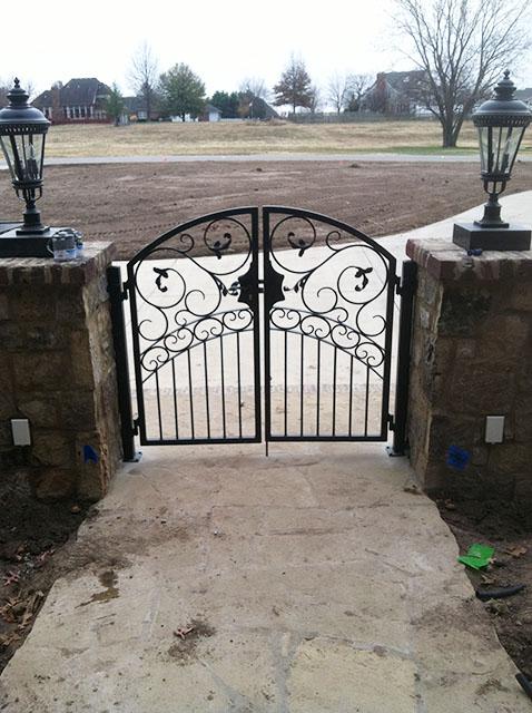 ARCH WALK GATE LEAVES
