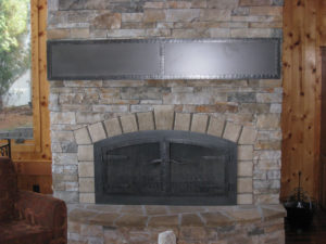 DOORS AND MANTEL