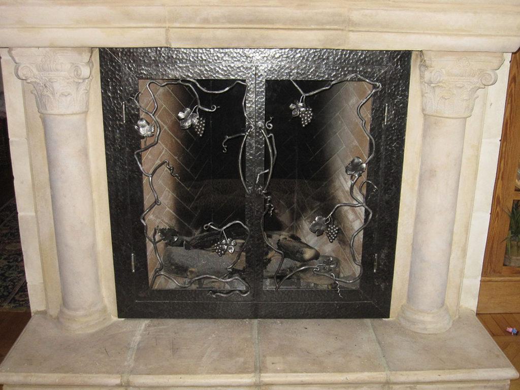 Fireplace Screens Doors By Advanced Welding