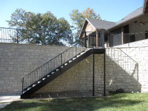 EXTERIOR STAIR STRINGERS