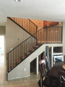NEW CLASSIC STAIR RAILING