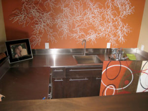STAINLESS COUNTERTOP