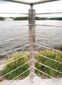 DETAIL_STAINLESS CABLE RAIL