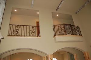 BALCONY AND GUARD RAIL