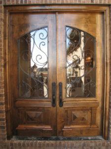 DOOR GRILL PAIR