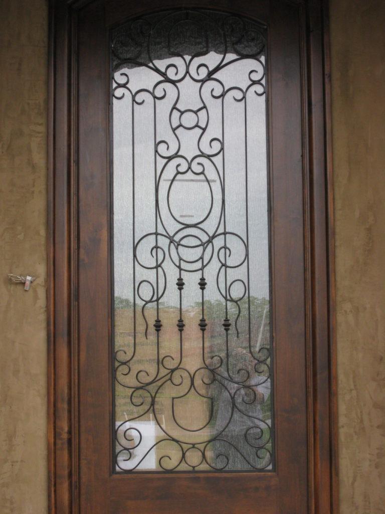 DOOR GRILL SCROLLS