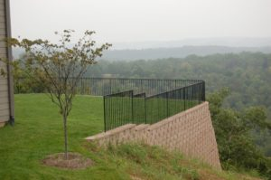 EXTERIOR FENCING CURVED