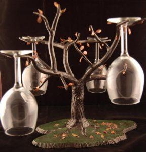 WINE GLASS TREE