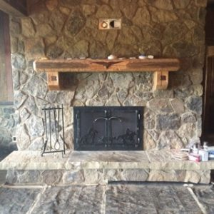 GIDDYUP FIREPLACE