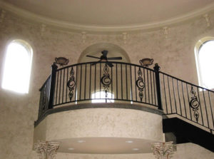BALCONY AND CIRCULAR
