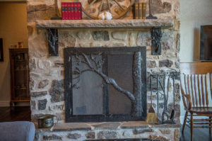 TREE FIREPLACE