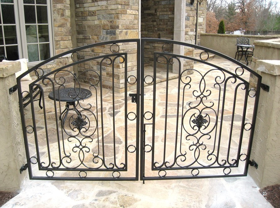 DOUBLE WALK GATE ARCH