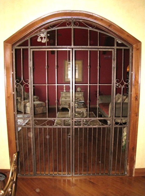 Interior Metal Gates By Advanced Welding   Architectural Blacksmith