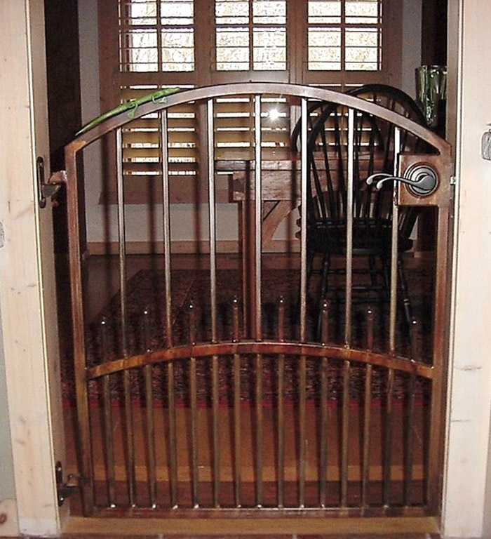 Awesome Interior Metal Gates By Advanced Welding   Architectural Blacksmith