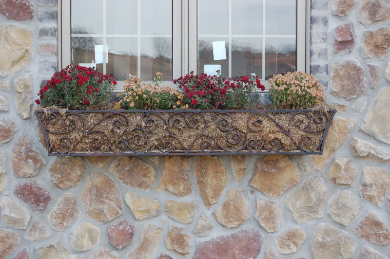 FLOWER BOX SCROLLS