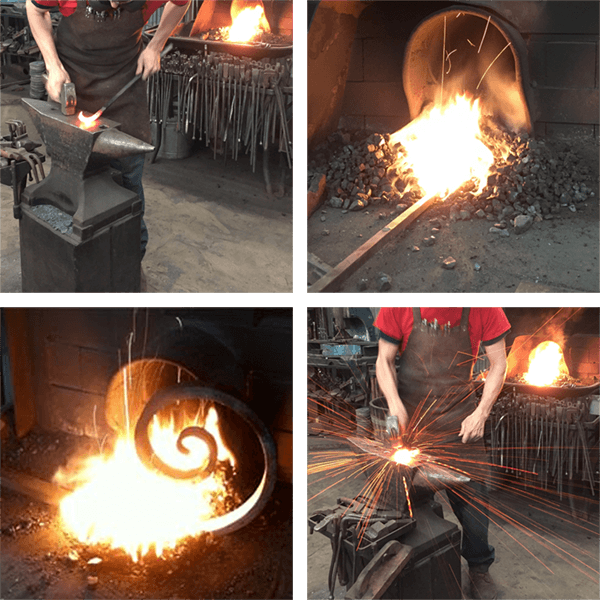 Blacksmithing coal for sale by the pound