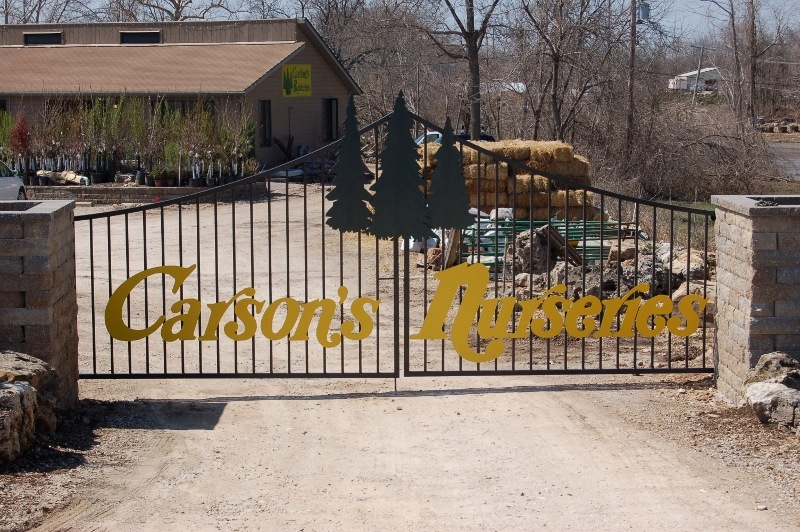 BUSINESS GATE LETTERING