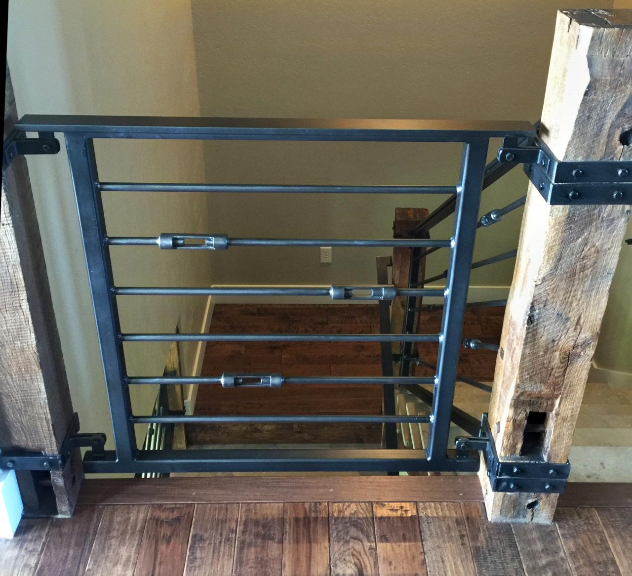 Interior Metal Gates By Advanced Welding   Architectural Blacksmith