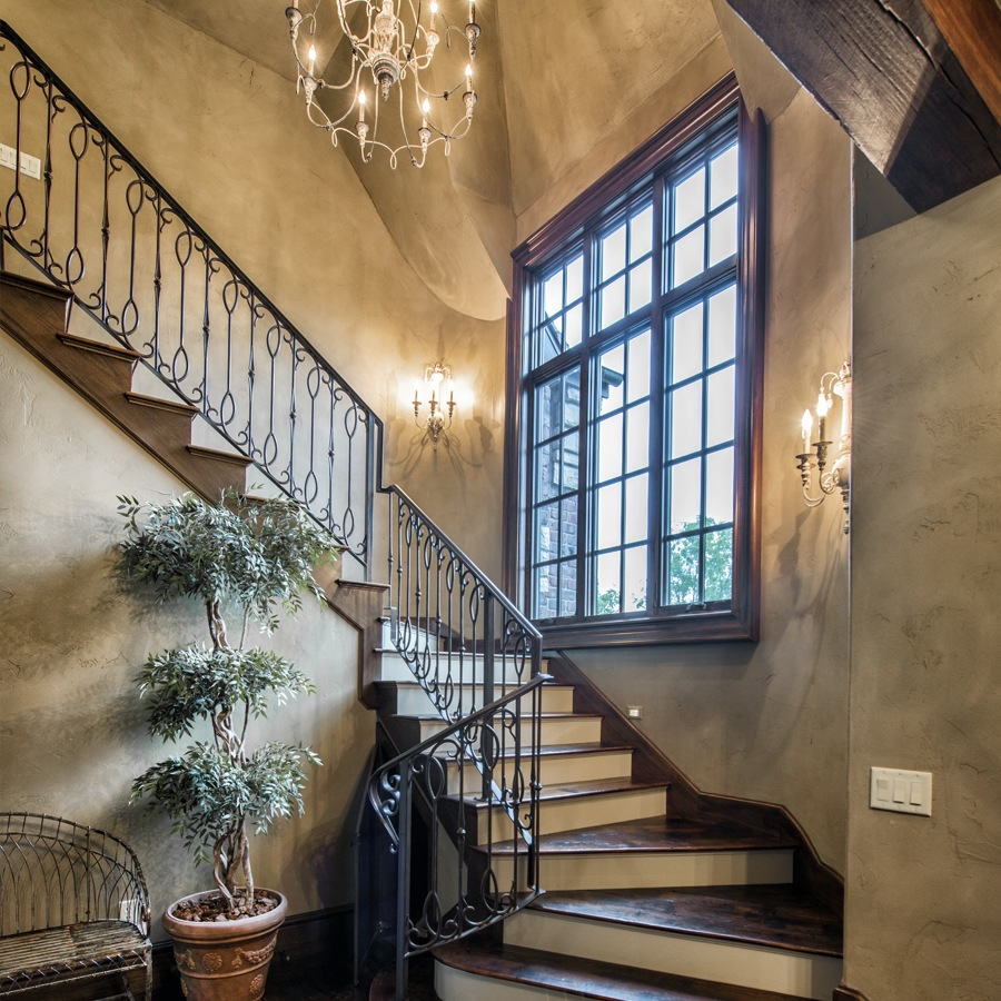Interior Railings by Advanced Welding - Architectural Blacksmith